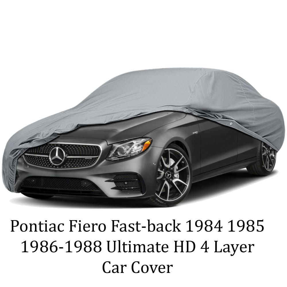 Pontiac Fiero Fast-back 1984 1985 1986-1988 Ultimate HD 4